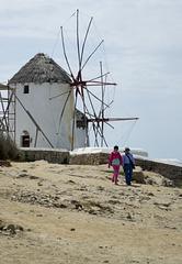 Windmills at Mykonos