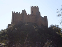 Almourol Castle.