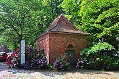 Ludwigslust, Stift Bethlehem Trafohäuschen