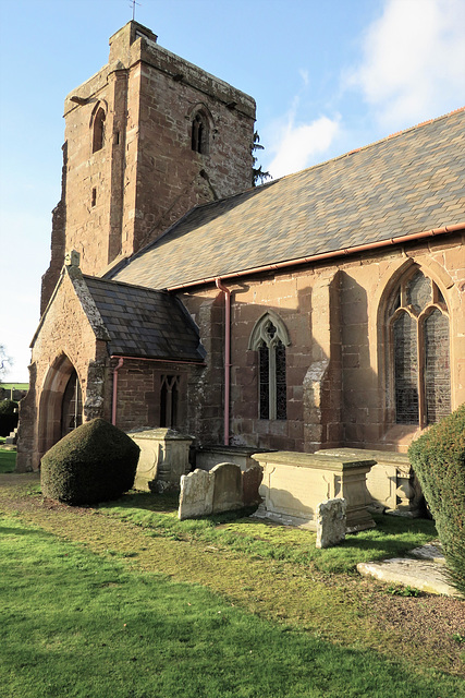 foy church, herefs.