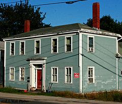 Court Street & Broadway, Machias Maine