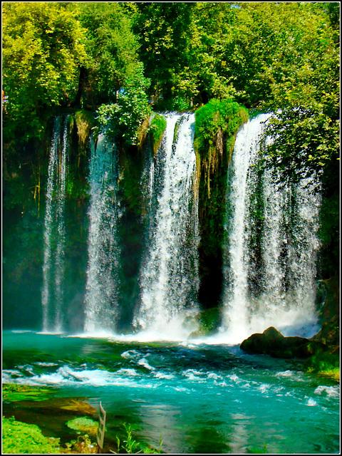 Antalya : Duden waterfall 8