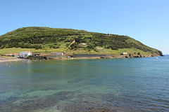 Azores, The Island of Faial, The Mount of Guia and the Beach of Porto Pim