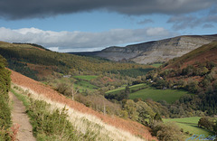Eglwyseg view