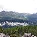 Blick von den Rotwandwiesen auf die Karnische Alpen