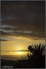 Sonnenuntergang neben Gomera