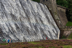 Derwent Dam overflowing