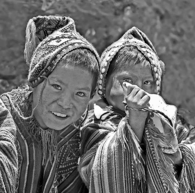 Brothers... in Pisac
