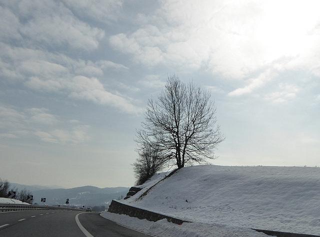 neve in basso Piemonte