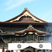 Japan, The Top of the Main Building of Zenko-ji Temple