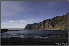 Kleiner Strand in Acantilado de Los Gigantes