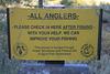 Sign at Spooner Lake