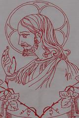 Detail des Altartuches