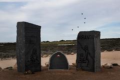 Wirangu Monument at Elliston