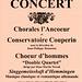 Concert à Blandy-les-Tours le 31 mai 1998