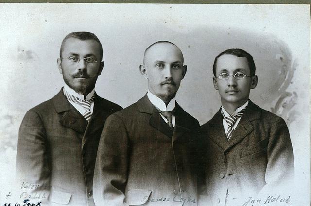 Jan Holub - Teodoro Čejka - Valentin Bilík