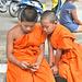 Un SMS de Bouddha pour le féliciter ?