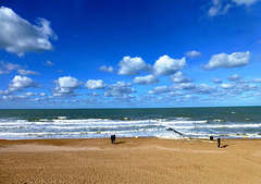 FR - Cabourg - Walk on the Beach