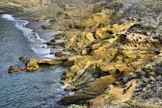 Nature's Terraces – Point Lobos State Natural Reserve, California