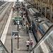 NICE; Gare SNCF; Vue depuis la nouvelle passerelle 01