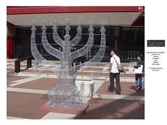 Sacred - Jewish menorah - British Library 18 8 2007