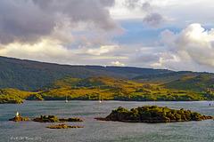 Islands in evening Sun