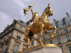 L'étalon or de Jeanne .