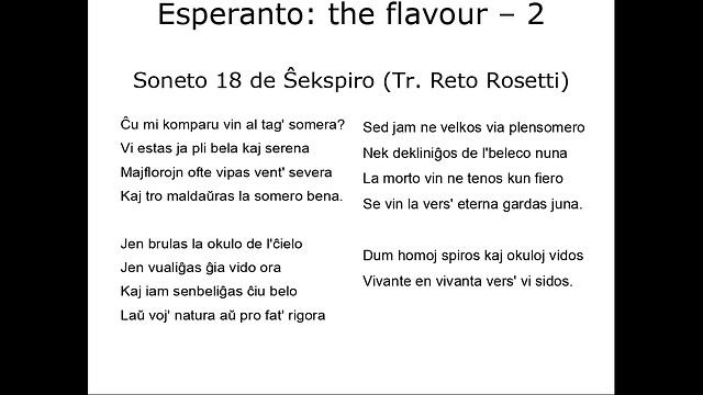 Soneto 18 de Ŝekspiro (Tr. Reto Rosetti)