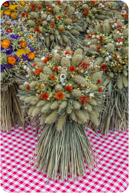 Blumenbindekunst