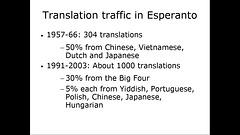 Traduktrafiko en Esperanto
