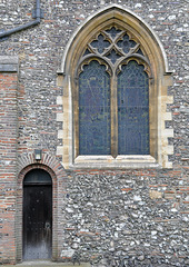 Side Door At St Albans