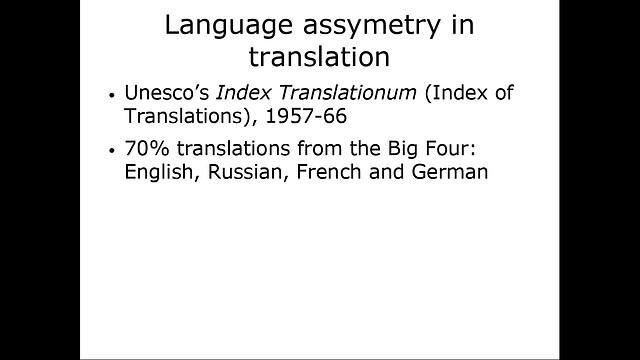 Lingva malsimetrio en tradukado