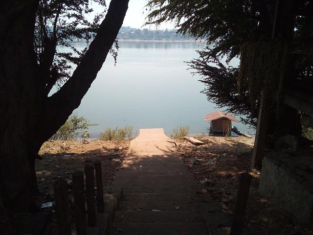 Descente vers l'île de Donkhoe