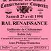 Bal renaissance à Blandy-les-Tours 25 avril 1998