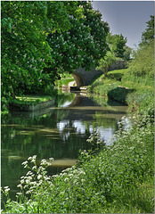 Kennet & Avon Canal at Sells Green