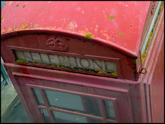 West Bay phone box