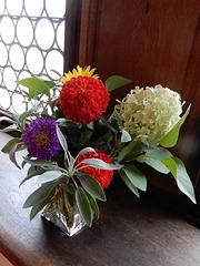 Blumen im Schloss