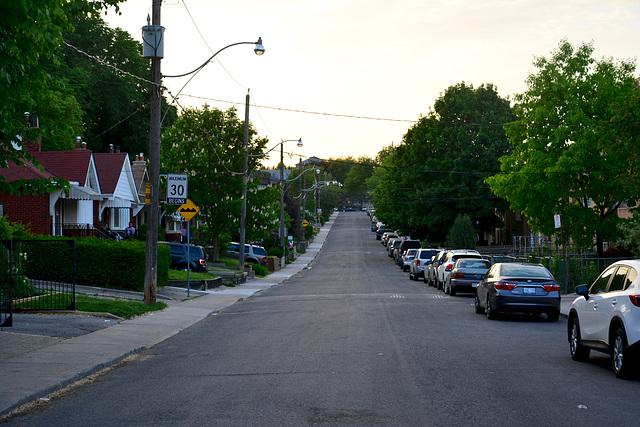 Canada 2016 – Toronto – Residential street