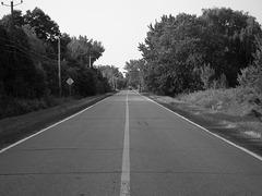 on the road / sur la route