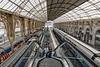 NICE; Gare SNCF; Vue depuis la nouvelle passerelle 04