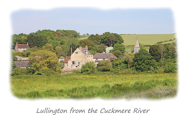 Lullington from the Cuckmere River - 12.5.2015