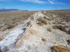 Ridge of hot spring deposits