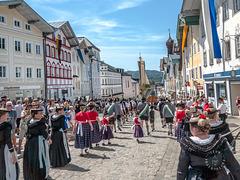 Trachtengaufest / Traditional costume festival in Bad Tölz