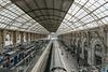 NICE; Gare SNCF; Vue depuis la nouvelle passerelle 05