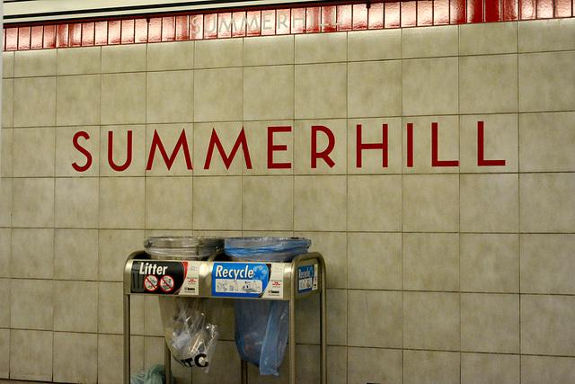 Canada 2016 – Toronto – Summerhill station