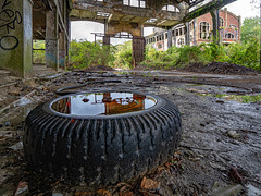 Coal mine du Gouffre - wet wheel - 25