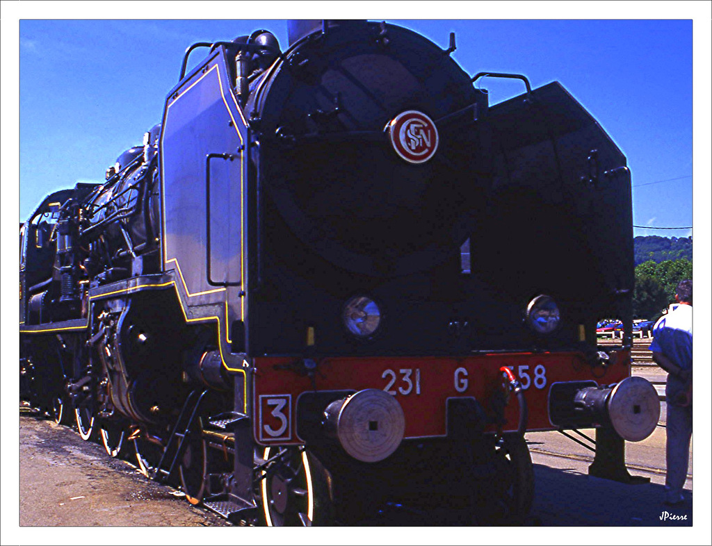 Locomotive à charbon
