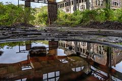 Coal mine du Gouffre - wet wheel - 26