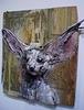 Desert fox, by Bordalo II.