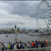 view of the London Eye